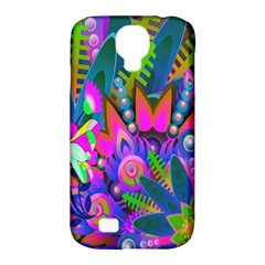 Wild Abstract Design Samsung Galaxy S4 Classic Hardshell Case (pc+silicone) by Simbadda