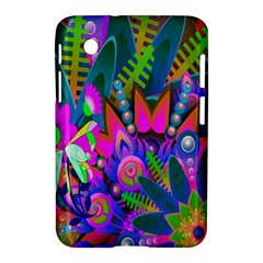 Wild Abstract Design Samsung Galaxy Tab 2 (7 ) P3100 Hardshell Case  by Simbadda