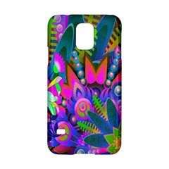 Wild Abstract Design Samsung Galaxy S5 Hardshell Case  by Simbadda