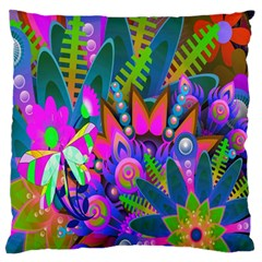 Wild Abstract Design Standard Flano Cushion Case (two Sides) by Simbadda