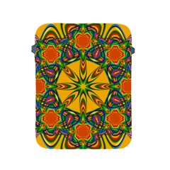 Seamless Orange Abstract Wallpaper Pattern Tile Background Apple Ipad 2/3/4 Protective Soft Cases by Simbadda