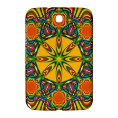 Seamless Orange Abstract Wallpaper Pattern Tile Background Samsung Galaxy Note 8 0 N5100 Hardshell Case  by Simbadda