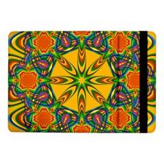 Seamless Orange Abstract Wallpaper Pattern Tile Background Samsung Galaxy Tab Pro 10 1  Flip Case by Simbadda