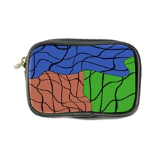 Abstract Art Mixed Colors Coin Purse by Simbadda