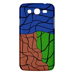 Abstract Art Mixed Colors Samsung Galaxy Mega 5 8 I9152 Hardshell Case  by Simbadda