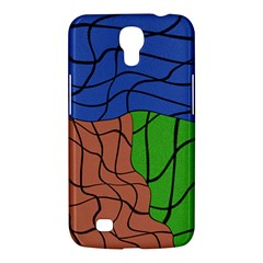 Abstract Art Mixed Colors Samsung Galaxy Mega 6 3  I9200 Hardshell Case by Simbadda