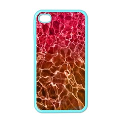 Background Water Abstract Red Wallpaper Apple Iphone 4 Case (color) by Simbadda