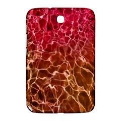 Background Water Abstract Red Wallpaper Samsung Galaxy Note 8 0 N5100 Hardshell Case  by Simbadda