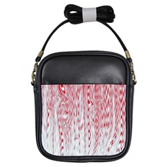 Abstract Swirling Pattern Background Wallpaper Pattern Girls Sling Bags by Simbadda