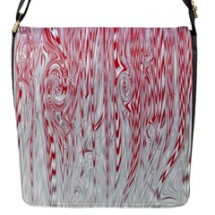 Abstract Swirling Pattern Background Wallpaper Pattern Flap Messenger Bag (s) by Simbadda
