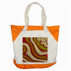 Artificial Colorful Lava Background Accent Tote Bag by Simbadda