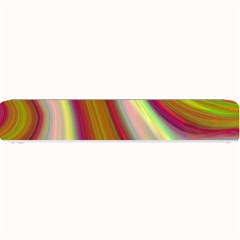 Artificial Colorful Lava Background Small Bar Mats by Simbadda