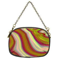 Artificial Colorful Lava Background Chain Purses (two Sides)  by Simbadda