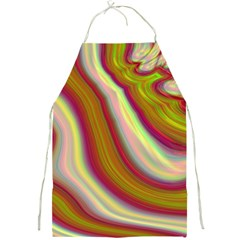 Artificial Colorful Lava Background Full Print Aprons by Simbadda