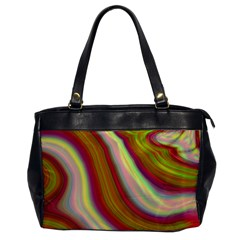Artificial Colorful Lava Background Office Handbags by Simbadda