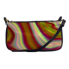 Artificial Colorful Lava Background Shoulder Clutch Bags by Simbadda