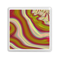 Artificial Colorful Lava Background Memory Card Reader (square)  by Simbadda