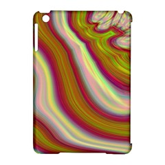 Artificial Colorful Lava Background Apple Ipad Mini Hardshell Case (compatible With Smart Cover) by Simbadda