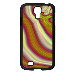 Artificial Colorful Lava Background Samsung Galaxy S4 I9500/ I9505 Case (black) by Simbadda