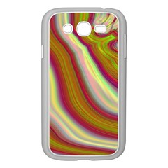 Artificial Colorful Lava Background Samsung Galaxy Grand Duos I9082 Case (white) by Simbadda