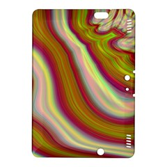Artificial Colorful Lava Background Kindle Fire Hdx 8 9  Hardshell Case by Simbadda