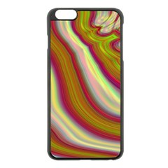 Artificial Colorful Lava Background Apple Iphone 6 Plus/6s Plus Black Enamel Case by Simbadda