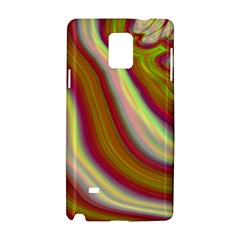 Artificial Colorful Lava Background Samsung Galaxy Note 4 Hardshell Case by Simbadda