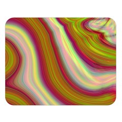 Artificial Colorful Lava Background Double Sided Flano Blanket (large)  by Simbadda