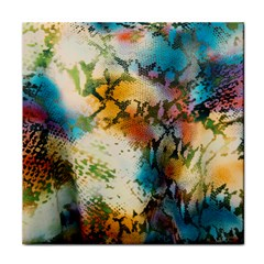 Abstract Color Splash Background Colorful Wallpaper Tile Coasters by Simbadda