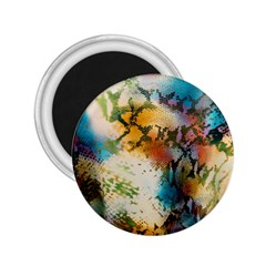 Abstract Color Splash Background Colorful Wallpaper 2 25  Magnets by Simbadda