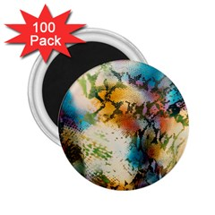 Abstract Color Splash Background Colorful Wallpaper 2 25  Magnets (100 Pack)  by Simbadda
