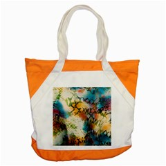 Abstract Color Splash Background Colorful Wallpaper Accent Tote Bag by Simbadda
