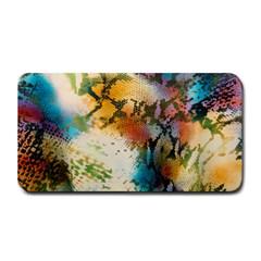Abstract Color Splash Background Colorful Wallpaper Medium Bar Mats by Simbadda