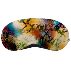 Abstract Color Splash Background Colorful Wallpaper Sleeping Masks by Simbadda