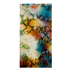 Abstract Color Splash Background Colorful Wallpaper Shower Curtain 36  X 72  (stall)  by Simbadda