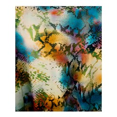 Abstract Color Splash Background Colorful Wallpaper Shower Curtain 60  X 72  (medium)  by Simbadda