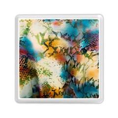 Abstract Color Splash Background Colorful Wallpaper Memory Card Reader (square)  by Simbadda
