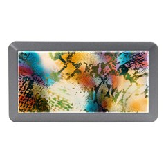 Abstract Color Splash Background Colorful Wallpaper Memory Card Reader (mini) by Simbadda
