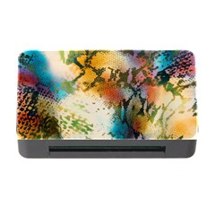 Abstract Color Splash Background Colorful Wallpaper Memory Card Reader With Cf by Simbadda