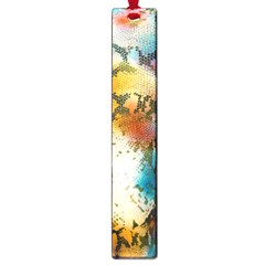 Abstract Color Splash Background Colorful Wallpaper Large Book Marks by Simbadda