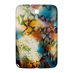 Abstract Color Splash Background Colorful Wallpaper Samsung Galaxy Note 8 0 N5100 Hardshell Case  by Simbadda