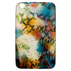 Abstract Color Splash Background Colorful Wallpaper Samsung Galaxy Tab 3 (8 ) T3100 Hardshell Case  by Simbadda