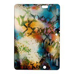 Abstract Color Splash Background Colorful Wallpaper Kindle Fire Hdx 8 9  Hardshell Case by Simbadda