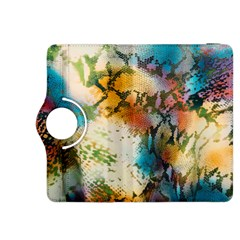 Abstract Color Splash Background Colorful Wallpaper Kindle Fire Hdx 8 9  Flip 360 Case by Simbadda