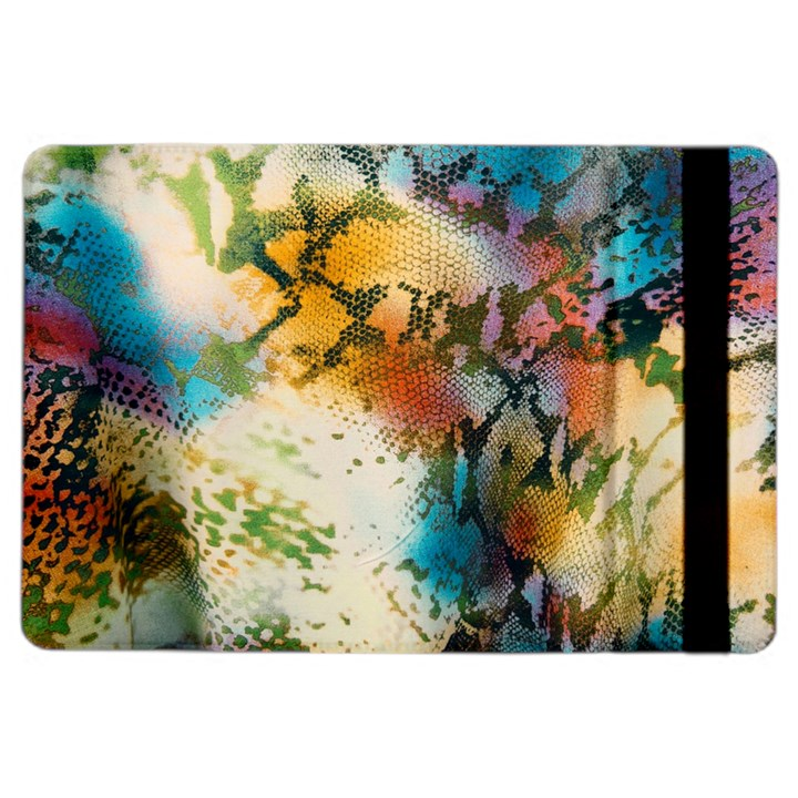 Abstract Color Splash Background Colorful Wallpaper iPad Air 2 Flip