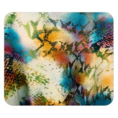 Abstract Color Splash Background Colorful Wallpaper Double Sided Flano Blanket (small)  by Simbadda