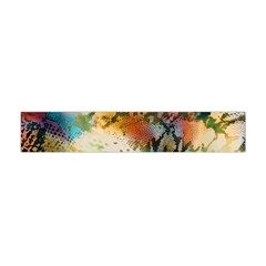 Abstract Color Splash Background Colorful Wallpaper Flano Scarf (mini) by Simbadda