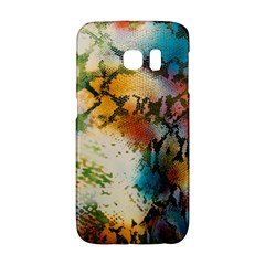 Abstract Color Splash Background Colorful Wallpaper Galaxy S6 Edge