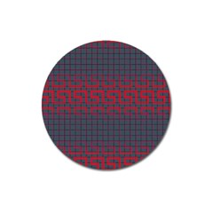 Abstract Tiling Pattern Background Magnet 3  (round) by Simbadda