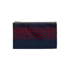 Abstract Tiling Pattern Background Cosmetic Bag (small)  by Simbadda